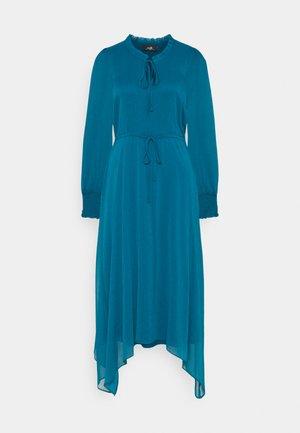 PIE CRUST TIE DRESS - Day dress - forest