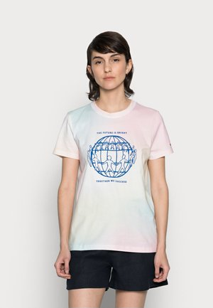 ONE PLANET REGULAR TEE - Print T-shirt - pastel multi