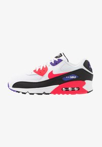 Nike Sportswear - AIR MAX 90 ESSENTIAL - Trainers - white/red orbit/psychic purple/black - 0
