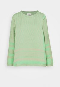 CECILIE copenhagen - LONG SLEEVES - Long sleeved top - minty - 0