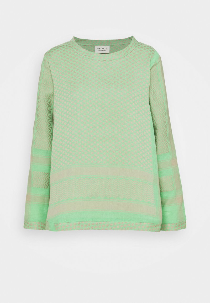 CECILIE copenhagen - LONG SLEEVES - Long sleeved top - minty
