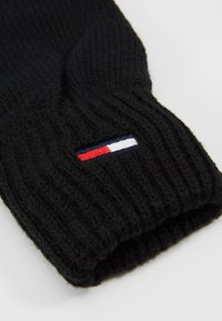 Tommy Jeans - BASIC FLAG GLOVES - Rukavice - black - 3
