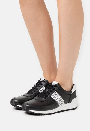 ALLIE WRAP TRAINER - Trainers - black