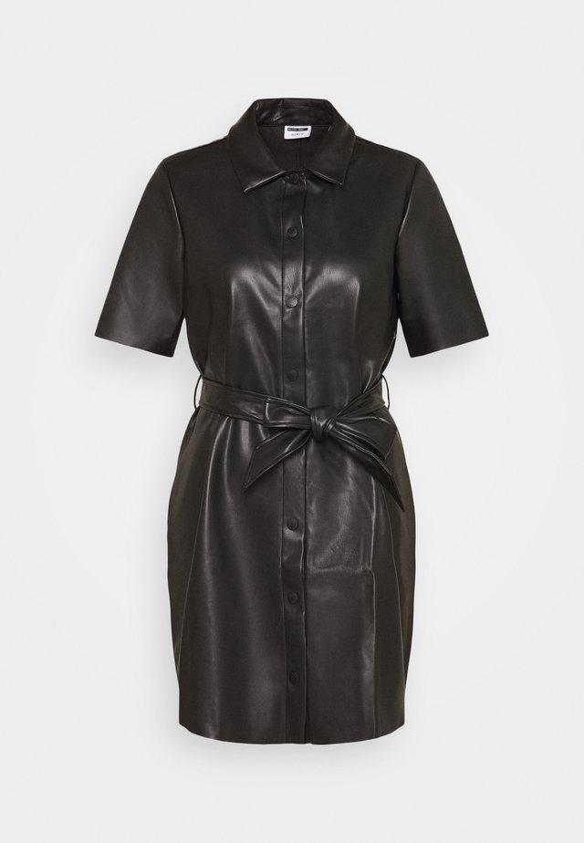 NMELISA PENNY DRESS - Skjortklänning - black