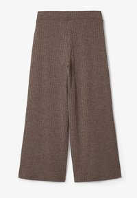 Name it - MIT WEITEM BEIN 7/8-LANGE GERIPPTE - Broek - deep taupe