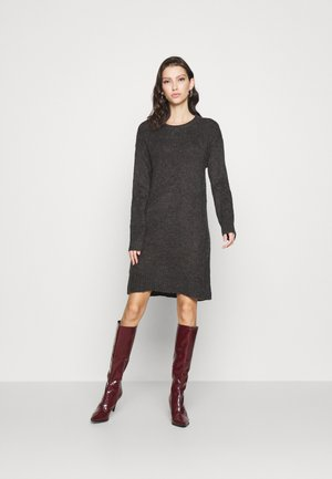JDYCORDELIS DRESS  - Jumper dress - dark grey melange