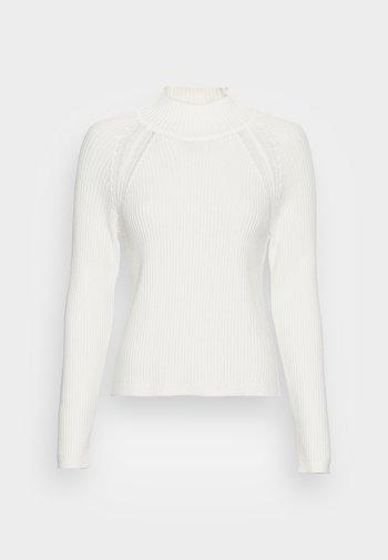 MOCKNECK - Jumper - off white