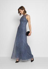 Lace & Beads - RALAH - Suknia balowa - dusty blue - 1