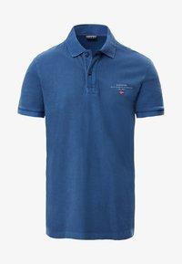 Napapijri - ELBAS - Polo shirt - dark denim - 5