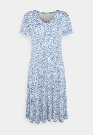 Jersey dress - quithabour/chalk