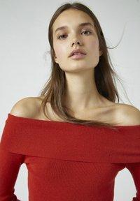 PULL&BEAR - Pullover - red - 3