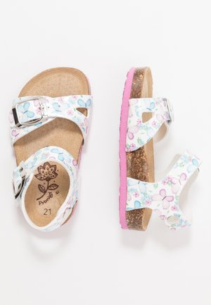 Sandalen - bianco/lilla/cielo