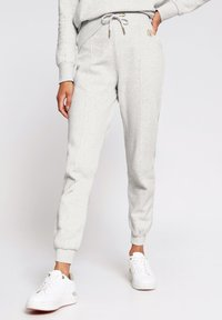 River Island - MARL SEAM DETAIL  - Tracksuit bottoms - grey - 0