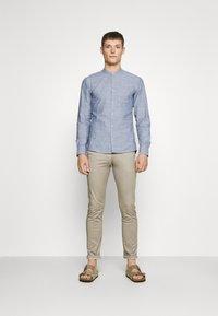 Q/S designed by - LANGARM - Shirt - blue - 1