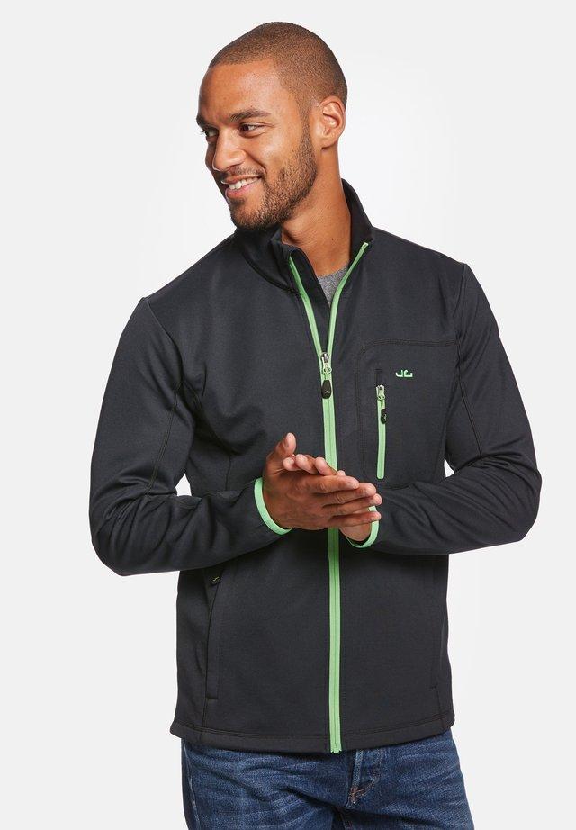 JESPER - Soft shell jacket - black