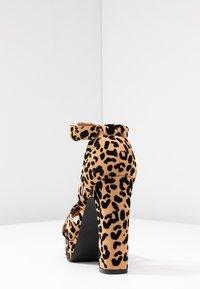 Even&Odd - Sandaler med høye hæler - brown - 5