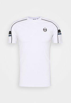 CLASS - Print T-shirt - white/midnight blue