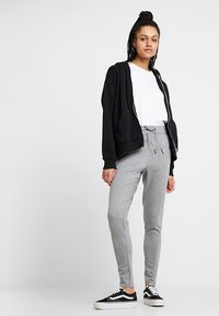 Noisy May - NMPOWER  - Trousers - medium grey - 1