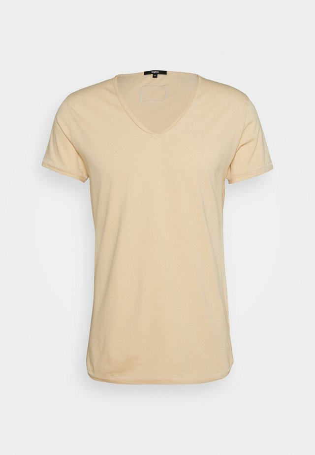 MALIK - T-shirt basic - desert sand