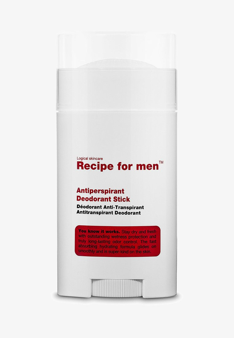 Recipe For Men - ANTIPERSPIRANT DEODORANT STICK - Deodoranter - -