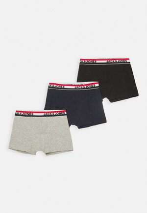 JACWAISTBAND STRIB TRUNKS 3 PACK - Pants - black