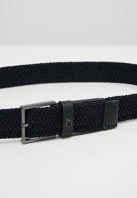 Calvin Klein - FORMAL ELASTIC BELT - Belt - blue - 4
