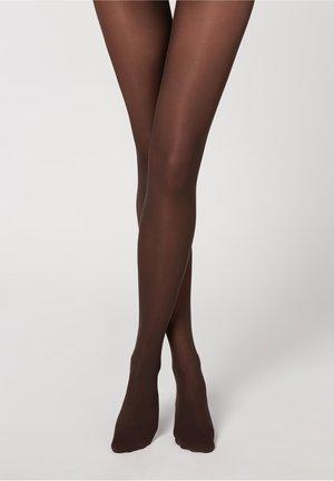 TOTALLY INVISIBLE - Tights - marrone scuro
