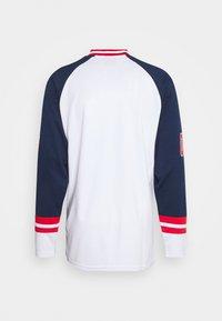 FUBU - COLLEGE HOCKEY - Long sleeved top - white - 1