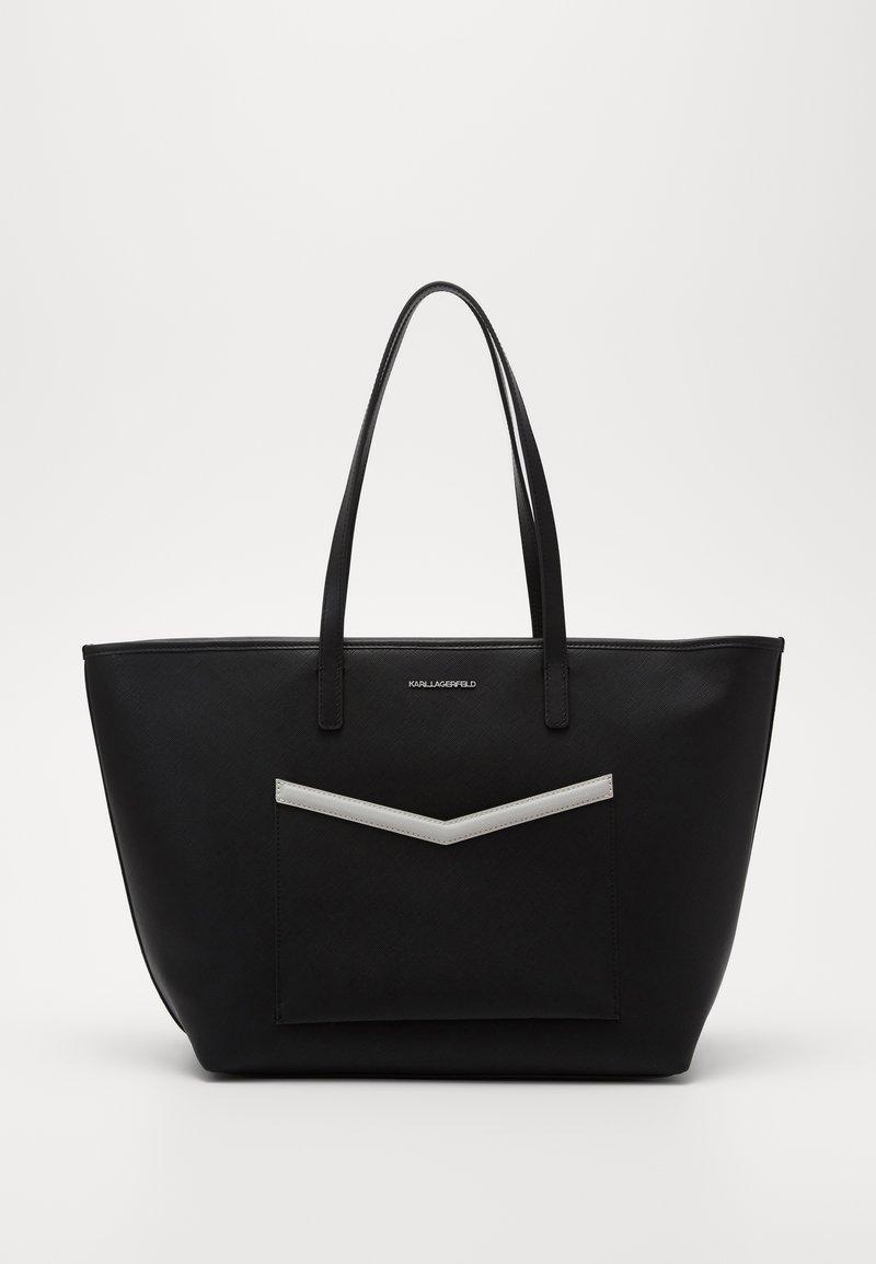 KARL LAGERFELD - MAU SHOULDER BAG - Bolso de mano - black