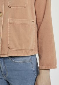 TOM TAILOR DENIM - Giacca di jeans - washed coral - 4
