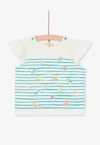 Du Pareil au Même - Print T-shirt - off white - 0