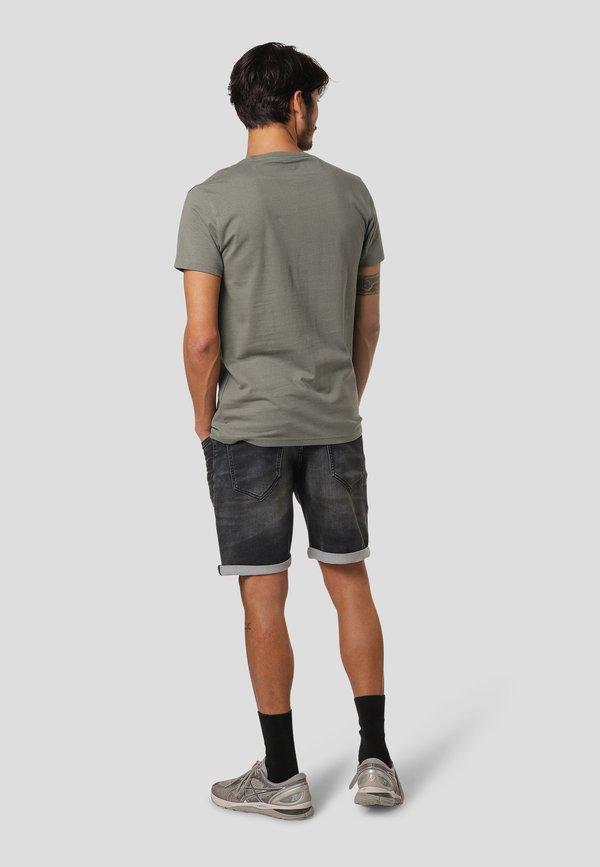 MARCUS KARLY - T-shirt z nadrukiem - castor grey/szary Odzież Męska ULVM