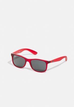JUNIOR SQUARE UNISEX - Sluneční brýle -  red