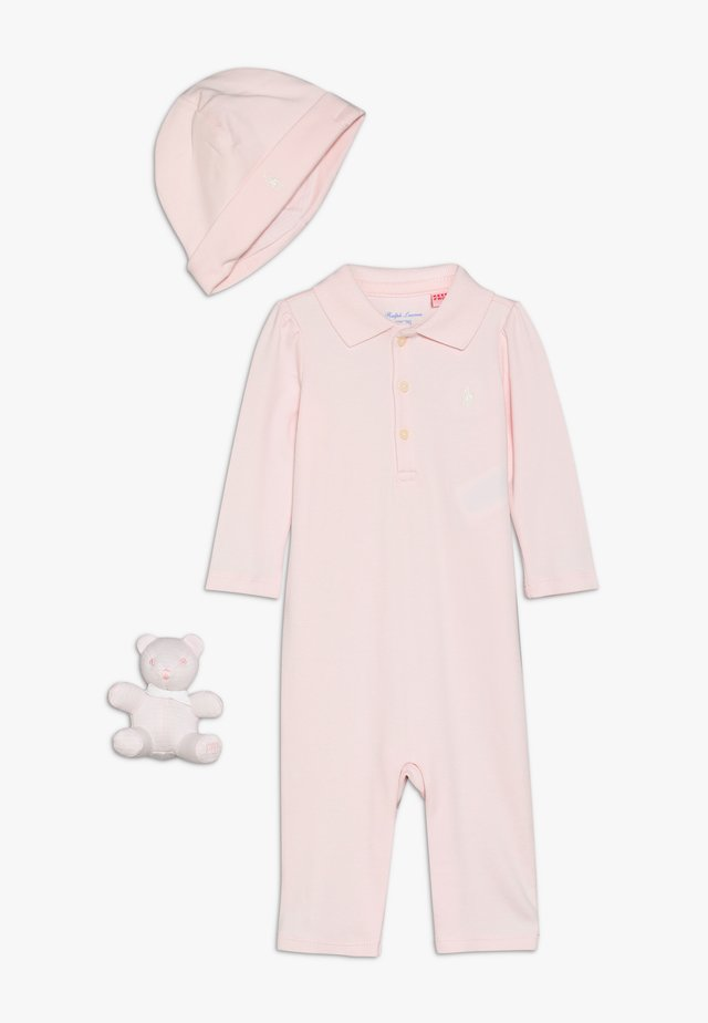 COVERAL APPAREL SET - Čepice - delicate pink