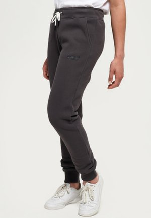 ORANGE LABEL - Tracksuit bottoms - dark grey