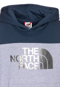 The North Face - GIRLS DREW PEAK HOODIE - Bluza z kapturem - blue wing teal - 2