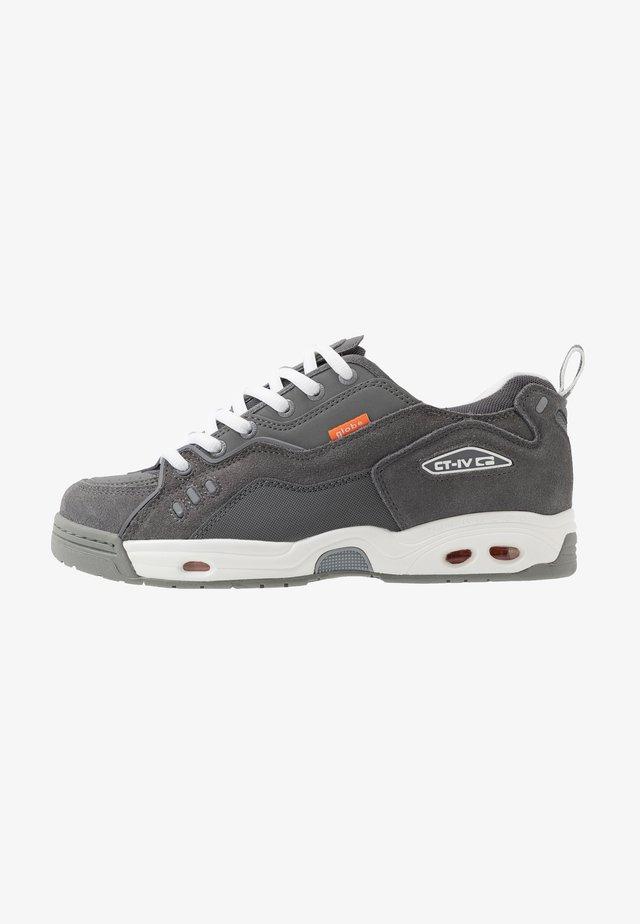 CT-IV CLASSIC - Skate shoes - grey/white/orange