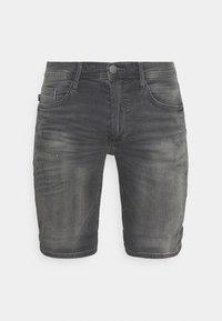 SCRATCHES - Denim shorts - denim grey