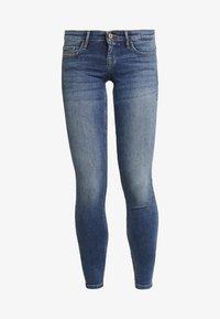 ONLY - Jeans Skinny Fit - medium blue denim - 4