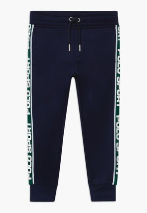 TRACK  - Tracksuit bottoms - cruise navy
