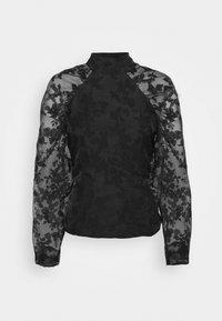 Gina Tricot - YLVA BLOUSE - Long sleeved top - black - 4