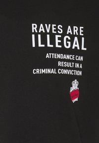 PRAY - UNISEX RAVE - Print T-shirt - black - 2