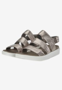 ECCO - Walking sandals - metallic grey - 2