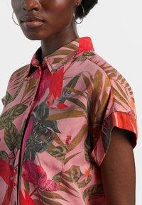 Desigual - ROUS - Button-down blouse - red - 3