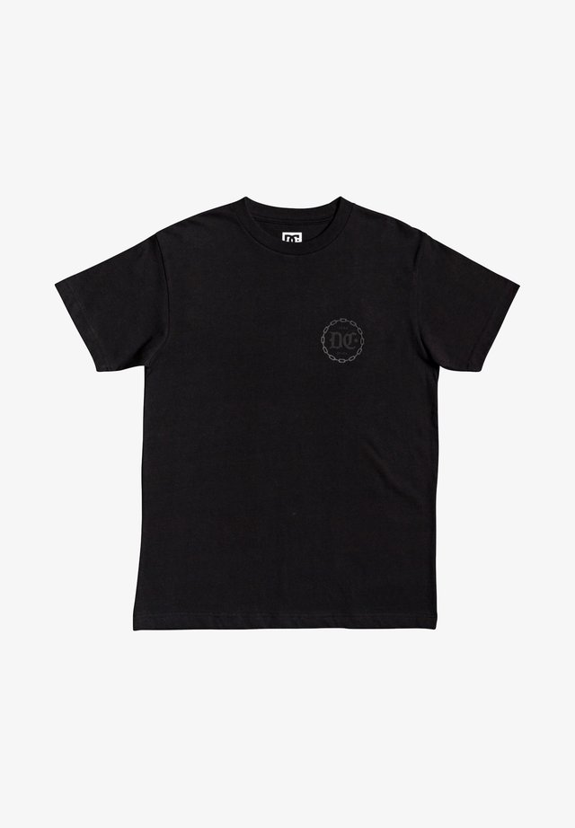 CHAINED UP  - Print T-shirt - black