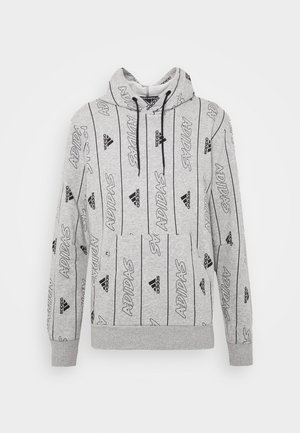 Huppari - medium grey heather/black