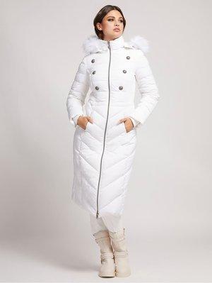 Down coat - weiß