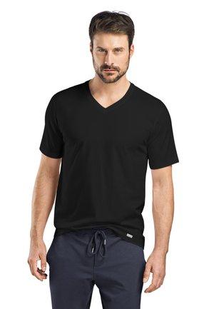 LIVING - Basic T-shirt - black