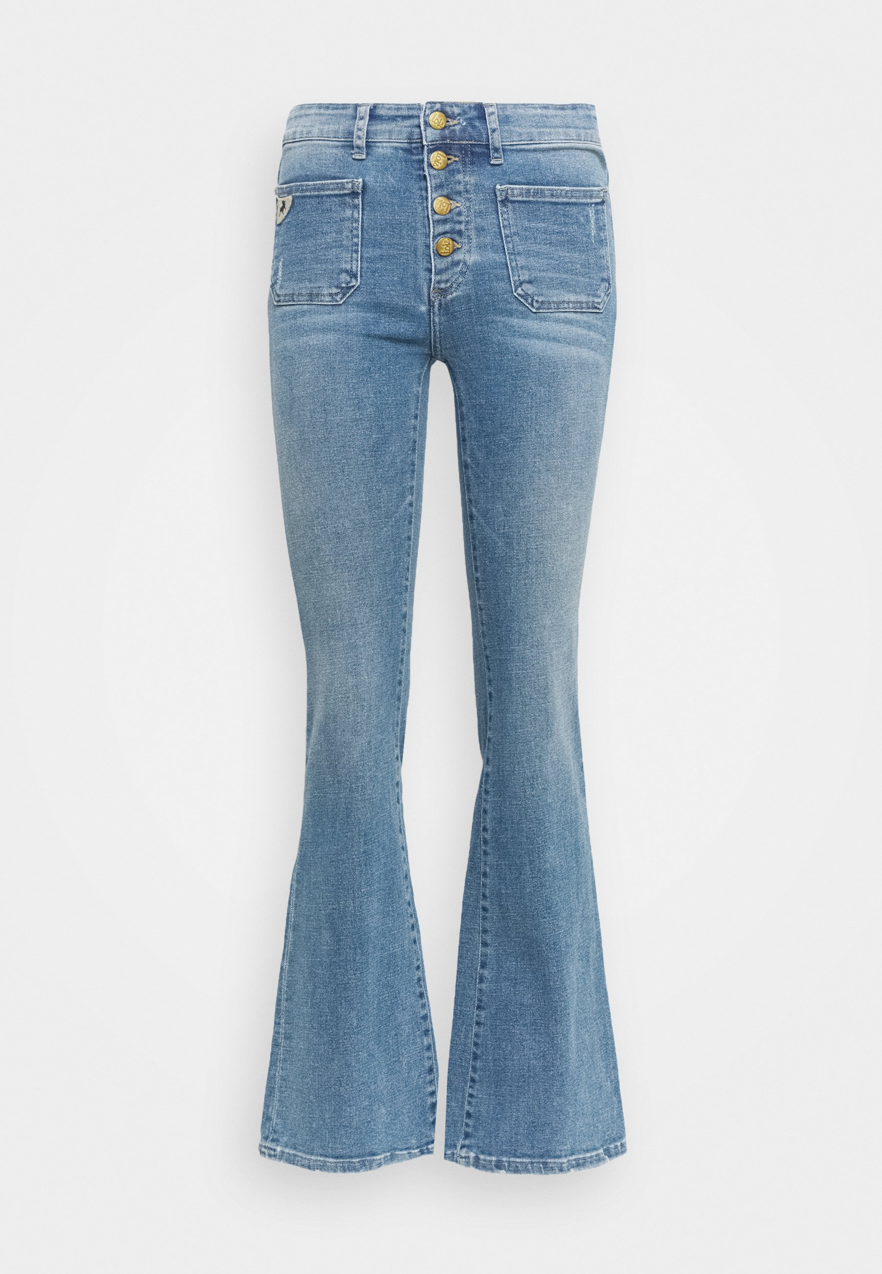 Women GAUCHO  - Flared Jeans