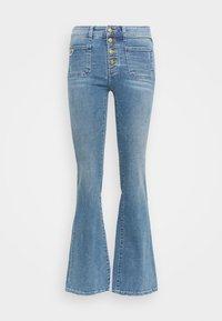 GAUCHO  - Flared Jeans - triple stone cross